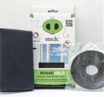 Steck Rovarháló,szúnyogháló antracit, ablakra 100x100 cm - SRA 10