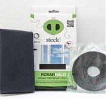 Steck Rovarháló,szúnyogháló antracit, ablakra 150x180 cm - SRA 18