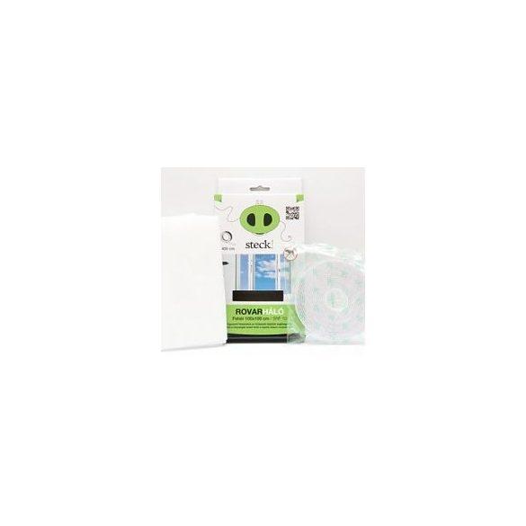 Steck Rovarháló,szúnyogháló fehér, ablakra 100x100 cm - SRF 10