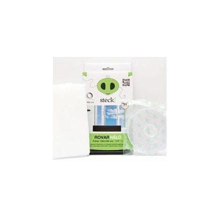 Steck Rovarháló,szúnyogháló fehér, ablakra 130x160 cm - SRF 16