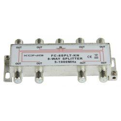 CATV Elosztó 11 dB / 5-1000 MHz - 8 Kimenet Nedis SSPL800ME