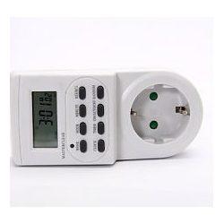 Steck Elektronikus napi kapcsolóóra, LCD kijelzővel STD700