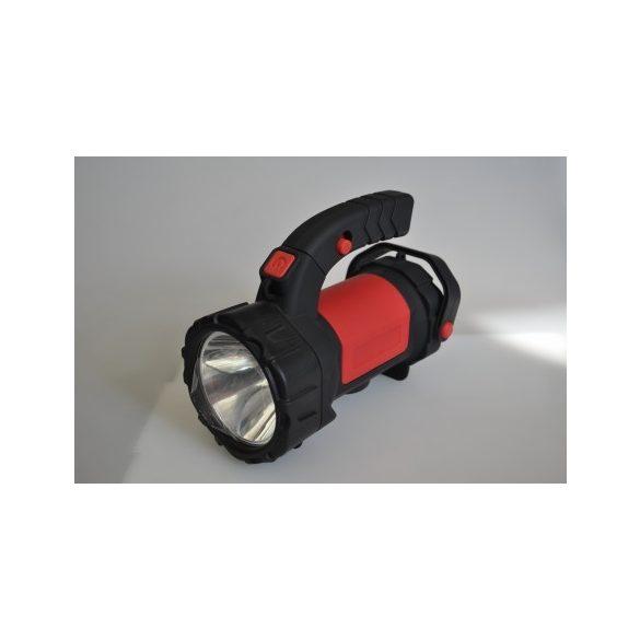 STECK tölthető kézi keresőreflektor akkumulátoros kézilámpa Multifunkciós lámpa 5+12W - STL 125