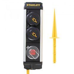 2-es elosztó kapcsolóval, leszúrható 5m 1,5 mm2 SXECCC0LAJE
