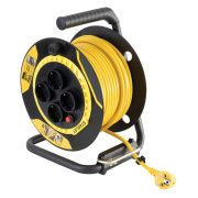 Beltéri kábeldob 25m H05VV-F 3G1,5 mm 2 kábel SXECCL26BSE