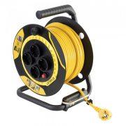 Beltéri kábeldob  40 m H05VV-F 3G1,5 mm 2 kábel SXECCL26BVE