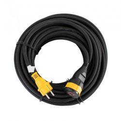 Hosszabbító lengőaljzattal 25 m kábel, H07RNF 3G1,5 mm 2 SXECCR91A3E