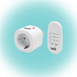 Távirányítható hálózati aljzat szett Home TH 3011