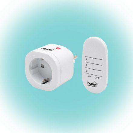 Távirányítható hálózati dugalj szett Home TH 3011