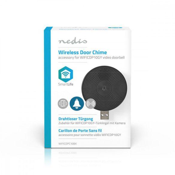 Vezeték Nélküli Ajtócsengő | USB WIFICDPC10BK