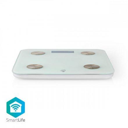 Intelligens Wi-Fi-s Személymérlegek   BMI, Testzsír, Víz, Csontok, Izomzat, Fehérje   Edzett Üveg   8 Felhasználó