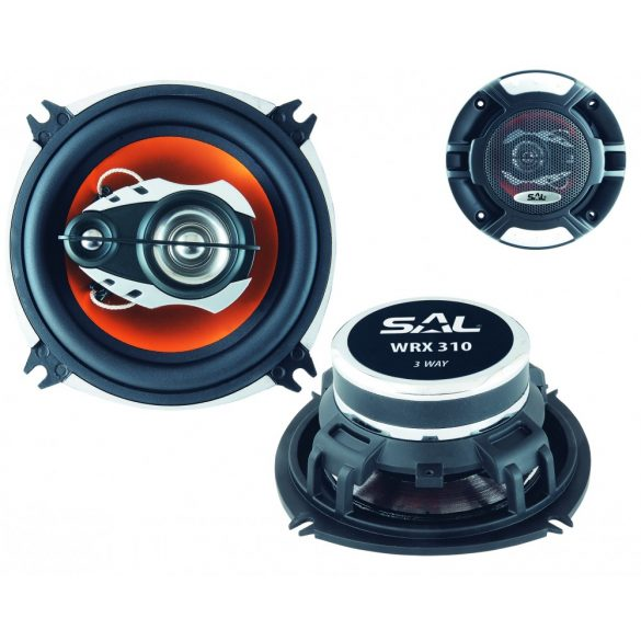 SAL Autóhangszóró-pár, 100mm, 3 utas, 4ohm, 140W WRX 310