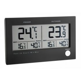 Digitális hőmérő, hőmérő páramérővel