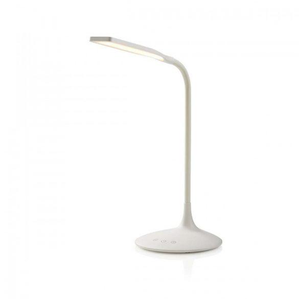 Állítható Fényerősségű LED Asztali Lámpa | Érintésvezérlés | 3 üzemmód | Feltölthető akkumulátor | 250 lm  ltlg3m1wt2