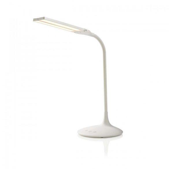 Állítható Fényerősségű LED Asztali Lámpa | Érintésvezérlés | 3 üzemmód | Feltölthető akkumulátor | 280 lm  ltlg3m1wt4