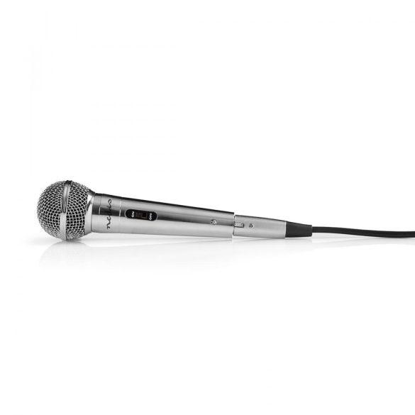 Vezetékes Mikrofon | -72 dB +/-3 dB Érzékenység | 60 Hz - 14 kHz | 5,0 m Nedis mpwd45gy