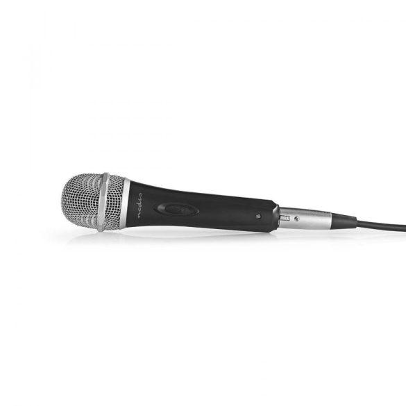 Vezetékes Mikrofon | -72 dB +/-3 dB Érzékenység | 50 Hz - 14 kHz | 5,0 m Nedis mpwd50bk