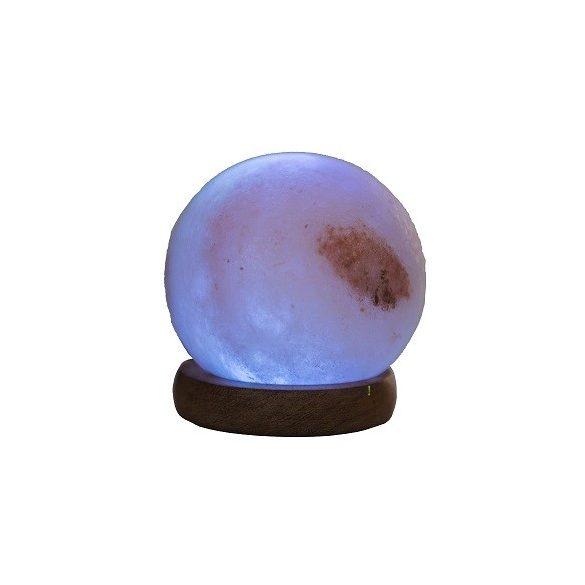 USB Himalája hegyi sólámpa, CSISZOLT LABDA, színváltós Steck SSL 09