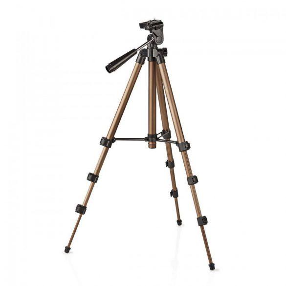 Fotó Állvány | Pásztázás és döntés | Max 1,5 kg | 105 cm | Fekete / Ezüst  tpod2000bz
