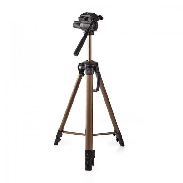 Állvány | Pásztázás és döntés | Max 3,5 kg | 161 cm | Fekete / Ezüst  tpod2300bz